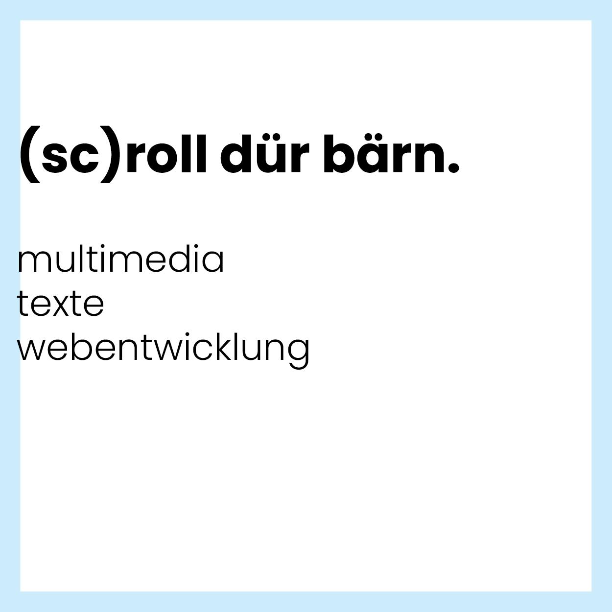 scrolldürbärn
